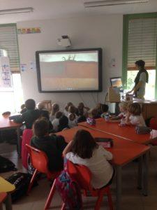 Intervention dans une école en Suisse