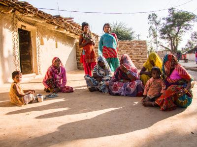 Groupe de femmes indiennes