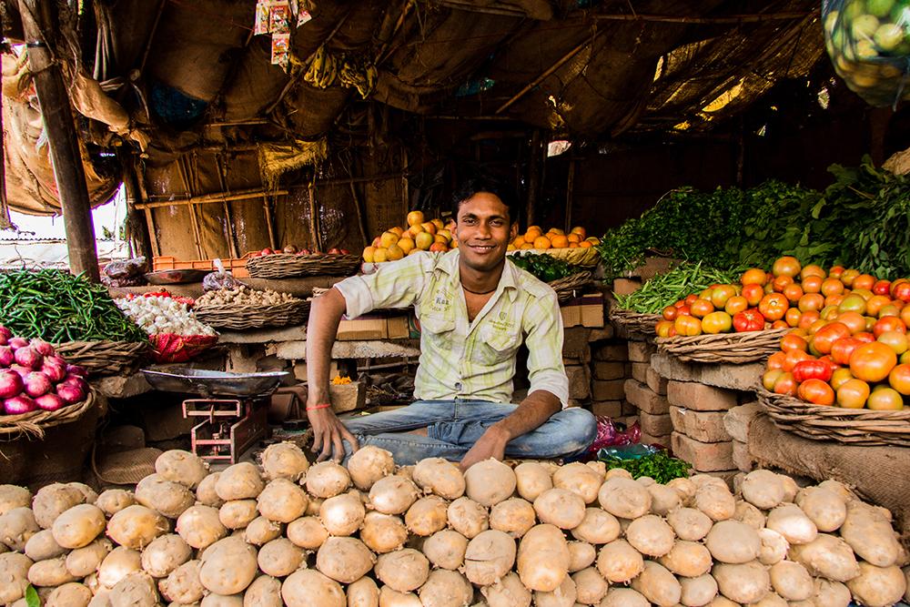 vendeur de legumes