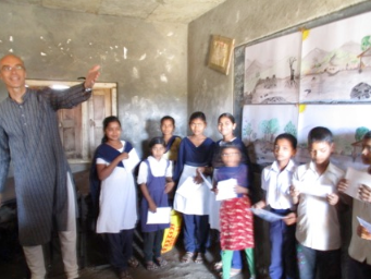 enfants indiens sensibilisés à l'environnement