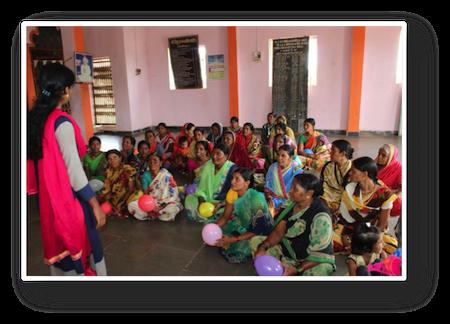 Sensibilisation aux droits des femmes en Inde par Rain Drop