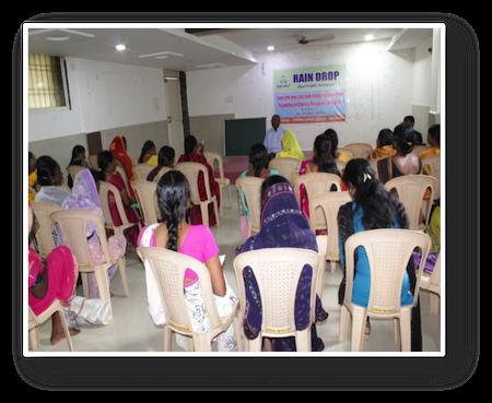Femmes en formation en Inde