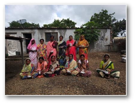 Groupe de femmes pratiquant la culture maraîchaire pour faire face à une mauvaise alimentation