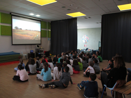 classe française sensibilisée par la diffusion d'un documentaire réalisé par Rain Drop